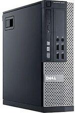 Dell OptiPlex 9020 Small Form Factor PC (i5-4570 CPU,8G RAM,500G HDD,Win 7 Pro)