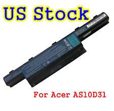 Battery for Acer Aspire 4741 5733Z 5742 5750 7560 7741Z 7750G AS10D31 AS10D51