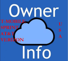 APPLE ICLOUD ID OWNERS INFO BY IMEI - SOLD BY USA SPRINT 1 - 72HRS