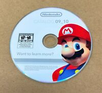 Nintendo Wii Catalog 09_10 CD ROM Disc Promotional Press Kit Images For PC 2009