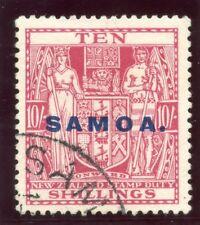 Samoa 1932 KGV 10s carmine-lake very fine used. SG 173. Sc 158.