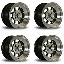 4 x Rota BM8 Polished Silver Alloy Wheels - 15x8"