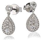 Boucles d'oreilles en or 18 carats et diamants