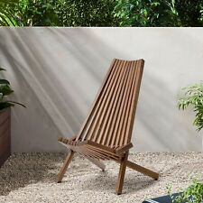 Folding Wooden Outdoor Chair Patio Porch Deck Lawn Garden Chairs USA STOCK STOCK