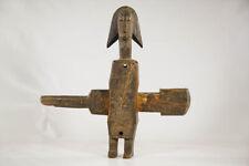 "Dogon Figural Door Lock 18.5"" - Mali - African Art"