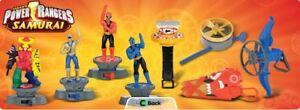 McDonalds Toy Power Rangers YuGiOh Dragon Booster Ben 10 Bakugan Max Steel