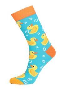 Womens Duck Print Socks (Pair) Beautiful Gift