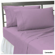 900 TC EGYPTIAN COTTON COMPLETE BEDDING COLLECTION IN ALL SETS & LAVENDER COLOUR