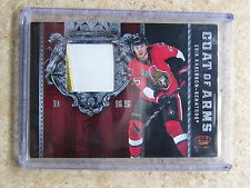 11-12 Panini Crown Royale #30 Coat of Arms Patch ERIK KARLSSON /25