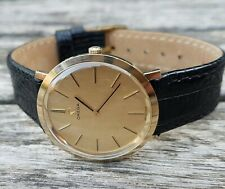 Omega gents watch 1969, 9ct solid gold , Cal 620 in an Omega box