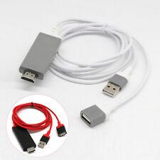 MHL USB vers HDMI TV câble audio/vidéo adaptateur pour iPhone 6s/7