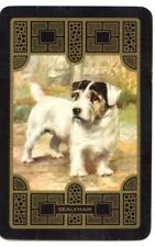 vintage Playing cards swap cards DOGS English named Sealyham terrier