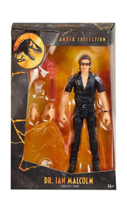 Jurassic Park: Amber Collection Dr. Ian Malcolm Mattel