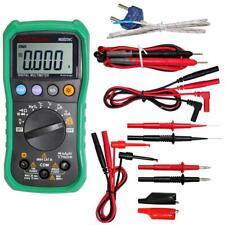 MASTECH MS8239C Digital Auto Range Multimeter with Tipped test TL809 test leads