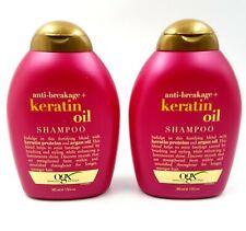 OGX Organix Anti-Breakage + Keratin Oil Shampoo 13 oz ~ Lot of 2