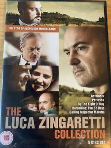 The Luca Zingaretti Collection (5 Film DVD Box Set) 2014, Odyssey - Excellent