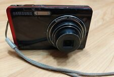 Samsung DualView TL220 12.2 MP Digital Camera - Red Black Good used condition