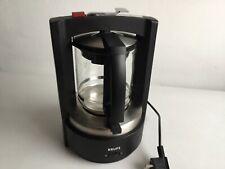 Krups Kaffee Maschine T8 Druckbrühstystem  Typ 468 (schwarz) für 8 - 12 Tassen