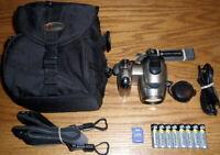 Konica Minolta DiMAGE Z6 6MP 12x Optical Zoom Lens UVGC Silver Guarantee Bundled