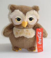 PELUCHE GUFO TRUDI GADGET COCA-COLA HARRY POTTER 2001-RARO-NEW PLUSH OWL HIBOU