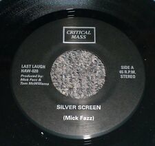 "Silver Screen Critical Mass~RARE 2011 Reissue 1978 Glam Punk 7""~VG++~FAST SHIP!"