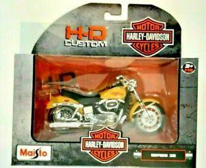 Maisto-Harley Davidson Custom-Series 38-1977 FXS Low Rider-1:18 Scale-Boys-3+