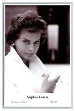 Sophia Loren (C) Swiftsure Postcard year 2000 modern print 20/132 glamour photo