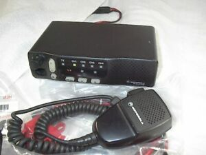 MOTOROLA M1225 VHF 150-174 MHZ  25+ WATT 4 CH Motorola M1225 VHF 150-174 Radio
