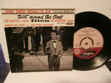 "dion""b.o.film""twist around the clock""ep7""or.fr.vogue:7924.biem 1962.rare"