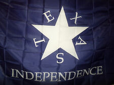 Polyester Conrad Texas Independence Flag 3x5 Foot Historical Banner