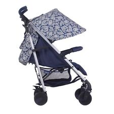 My Babiie MB51 From Birth Baby Stroller / Pushchair - Katie Piper Navy Hearts