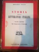 Storia della letteratura italiana - Rosario Tosto - Vallecchi - 1956 - M