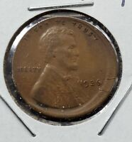 Off Center Broad strike struck 1936 P Lincoln Wheat Cent Error Coin VF Details