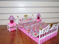 99001 My Fancy Life Bedroom , Gloria, Barbie Size doll furniture