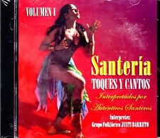 SANTERIA - TOQUE Y CANTOS/ GRUPO FOLKLORICO JUSTI BARRETO - CD