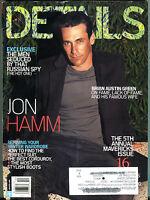 Details Magazine October 2010 Jon Hamm VGEX 022916jhe