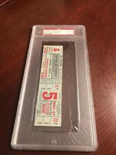 1949 PSA  AUTHENTIC NFL Football New York Giants Silver Anniversary Full Ticket