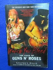 ~~ THE SAGA OF GUNS N' ROSES WATCH YOU BLEED NOVEL ~ MUST HAVE FOR GNR FANS ~~