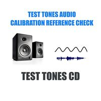 Audio Equipment Set Up & Test Tones CD