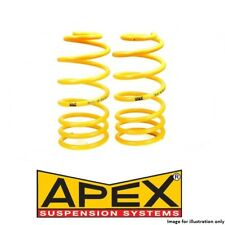 Peugeot 205 gti cti rallye-apex performance suspension lowering springs - 30mm
