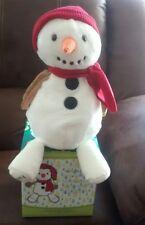 Scentsy Buddy in Box,  Sammy the snowman