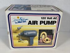 Air Pump Inflateable 120 V AC 2 Nozzles Inflate And Deflate In Box