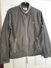 Penguin Jacket lightweight, lined zipper, 40 chest,grey