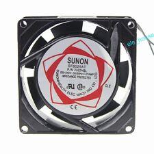 SUNON 220V 240V 8cm 80mm x 80mm x 25mm AC Brushless Cooling Industrial Fan
