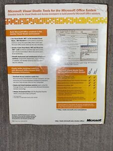 Microsoft Visual Studio Tools For The Microsoft Office System ~NEW!!