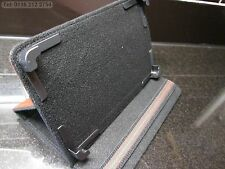"""Brown Secure Laptop Angle Case/Stand for Hyundai A7 HD 7"""" A10 Android Tablet"""