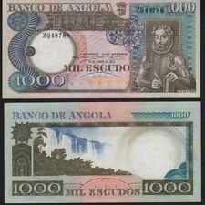 Angola 1000 escudo 1973 PICK .108 UNC