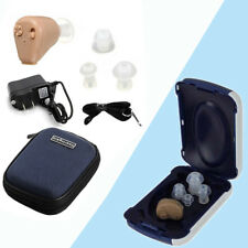 Recargable Mini Digital en Oído Audífono Amplificador de Tono Ajustable Potenciador