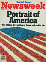 Newsweek Magazine Jan 17 1983 - Hidden Revolution - Portrait of America - VG