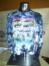 Polaroid Girls' Black White Tie Dye T-Shirt Tee Top Size L 11/13 NWT